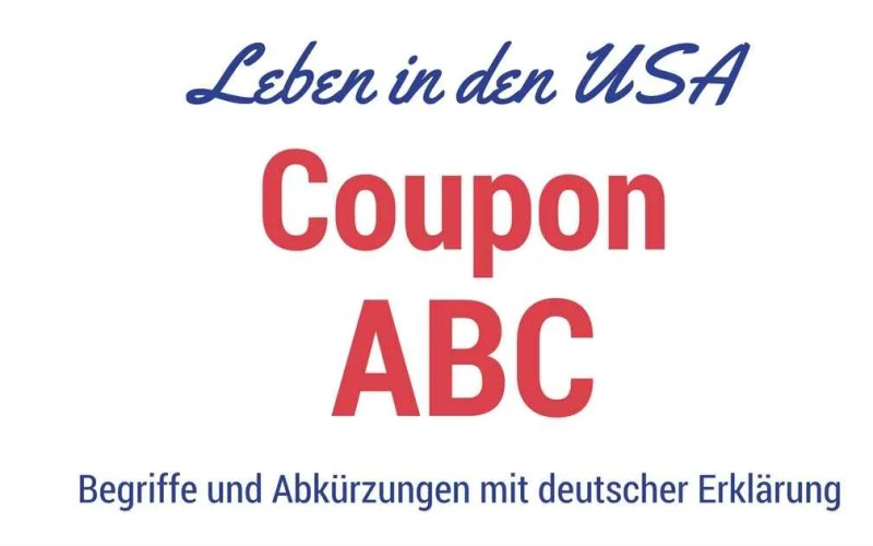 Liste Coupon Begriffe