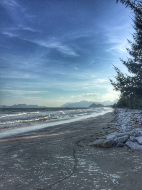Meer Chumphon Thailand im November