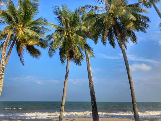 Paradies im November Chumphon Thailand