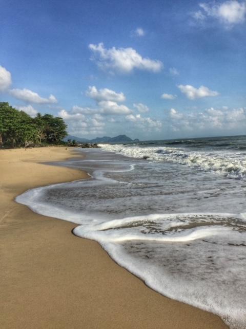 klare Sicht auf dem Meer Khanom Thailand