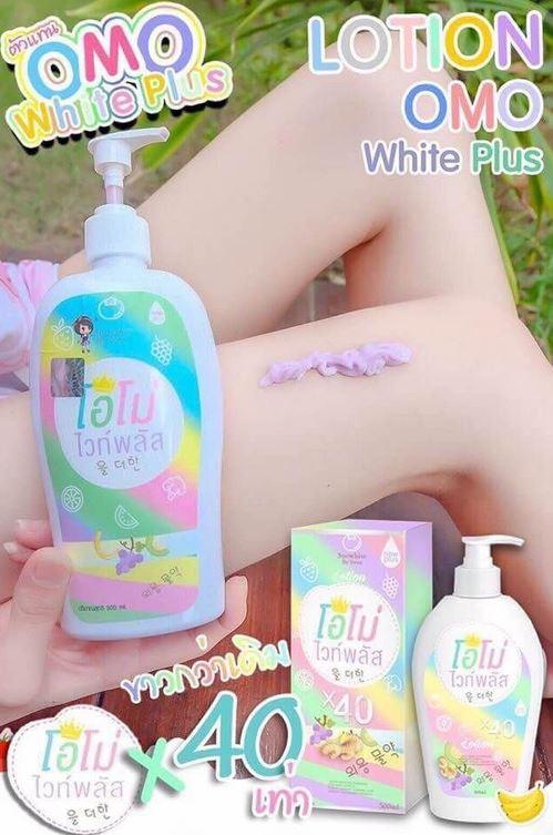 Weiße Haut Werbung 3