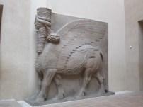 Geflügelter Stier aus Khorsabad