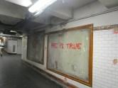 Art is true - gesehen im U-Bahnhof Concorde