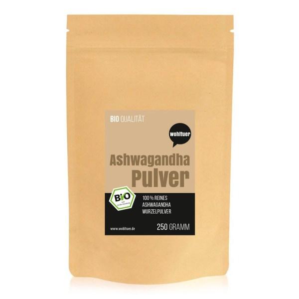 Bio Ashwagandha Pulver
