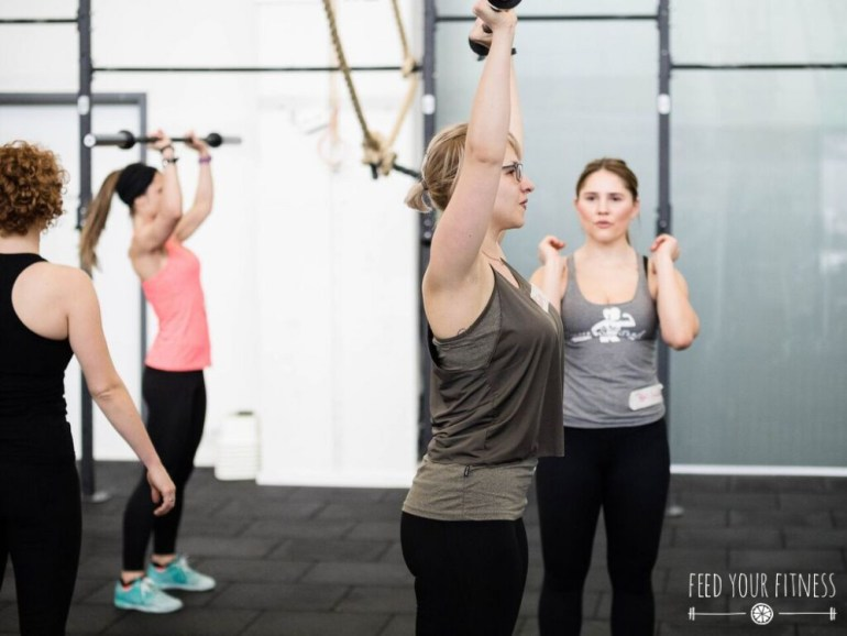 CrossFit Bloggertreffen von FEED YOUR FITNESS Push Press