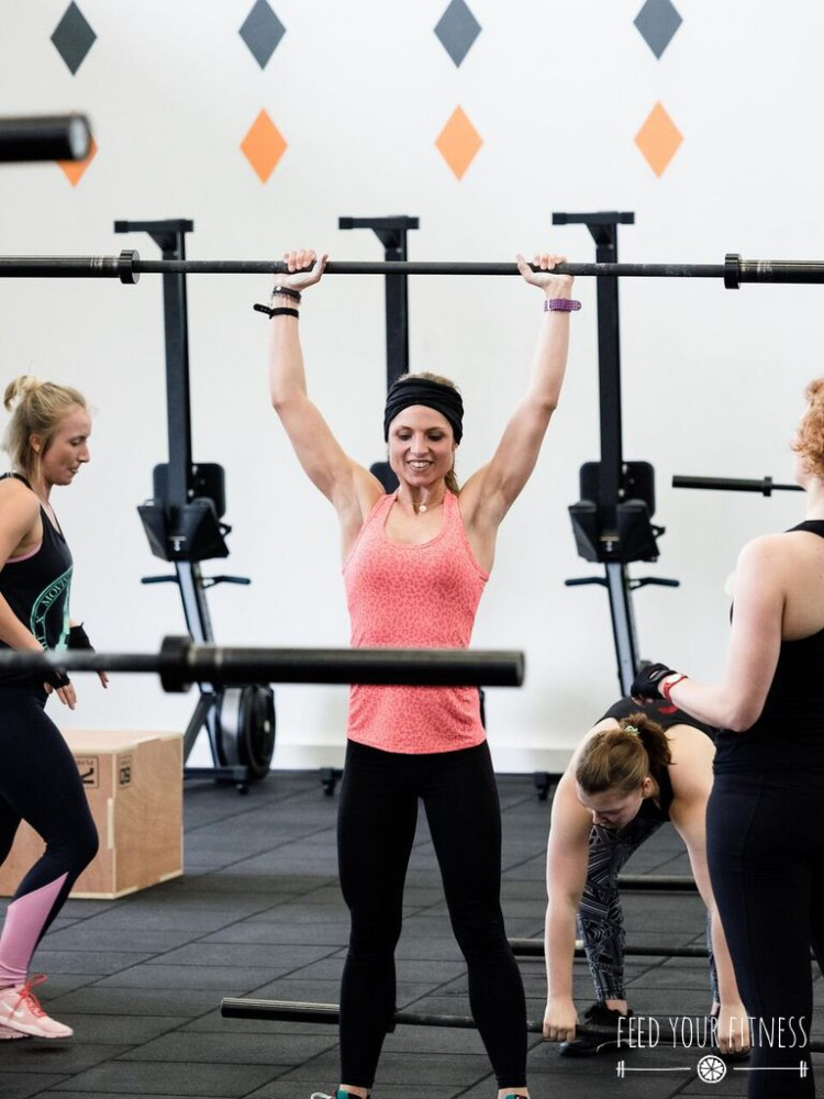 CrossFit Bloggertreffen von FEED YOUR FITNESS_Push Press im WOD