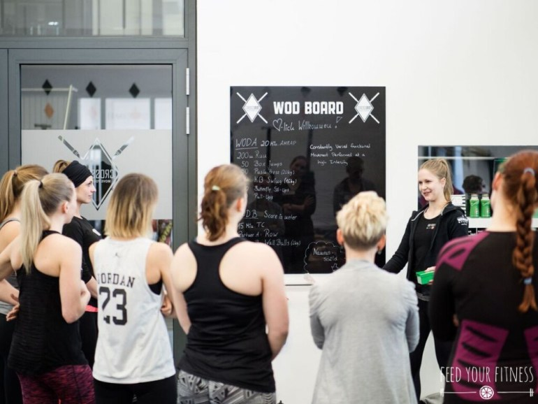 Welcoming CrossFit Bloggertreffen von FEED YOUR FITNESS