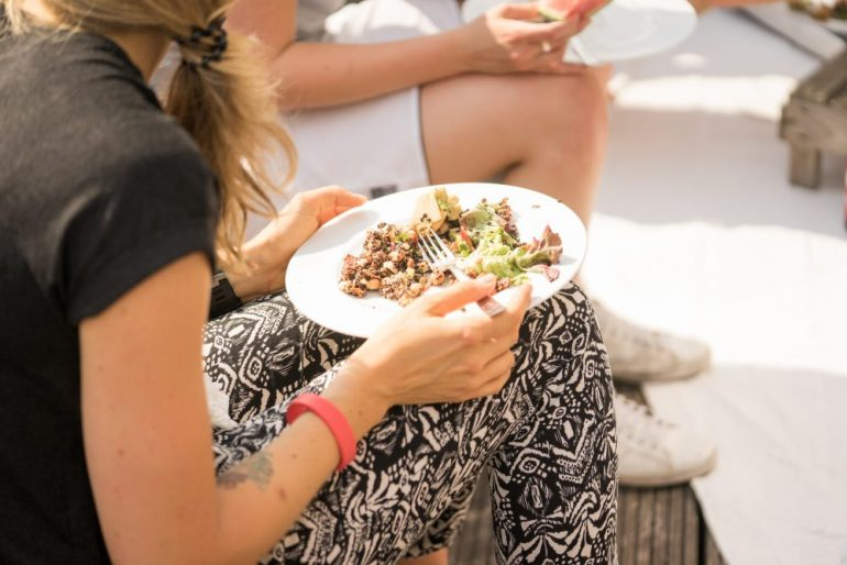 Sommer Picknick mit Reishunger_feed your fitness