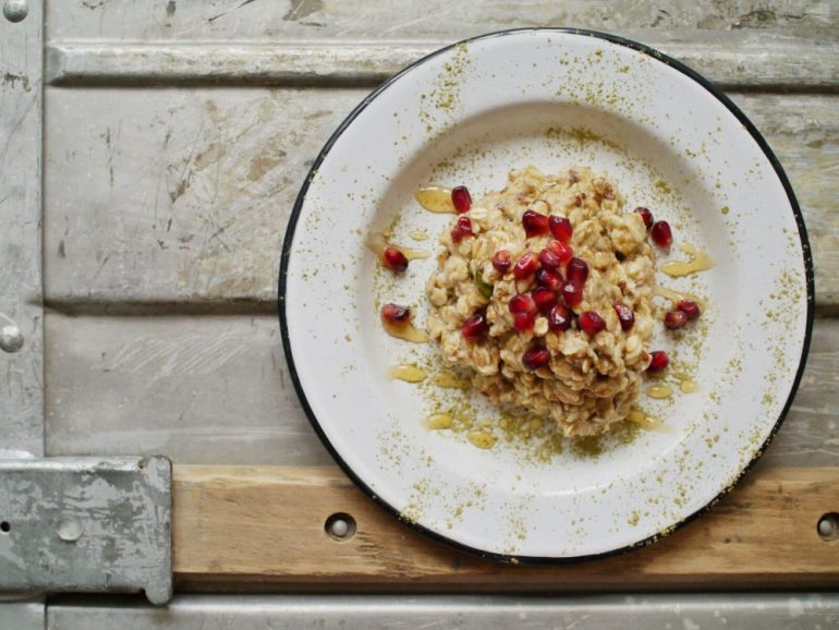 Teainfused Oatmeal mit Reistee von Reishunger