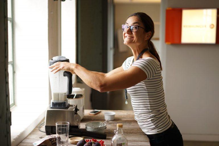 Spaß beim Zubereiten von Natur Reis Porridge mit Magda von Crosskitchen