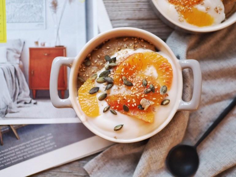 5 vegane Winter Rezepte, Chai Polenta Pudding
