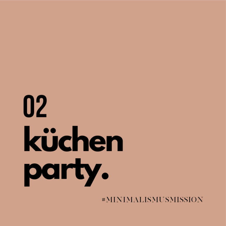 10 Tage Minimalismus Challenge auf lebensverliebt.de | die Küche