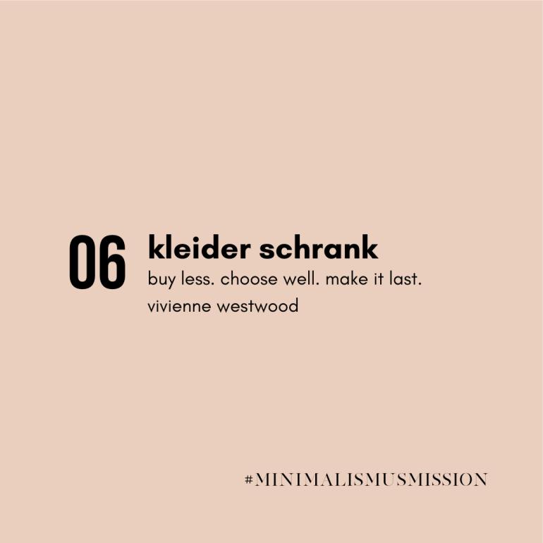 10 Tage Minimalismus Challenge auf lebensverliebt.de | Der Kleiderschrank