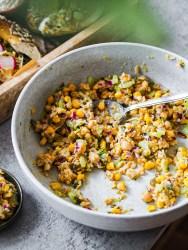 Rezept für veganen Thunfisch Salat bagel auf lebensverliebt.de