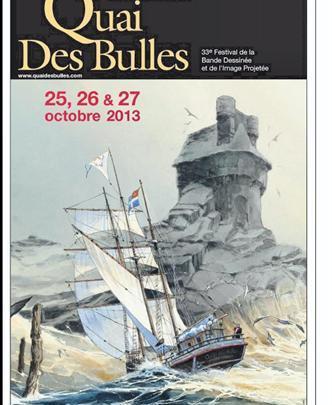 La BD arrive à quai et fait escale à Saint-Malo fin octobre !