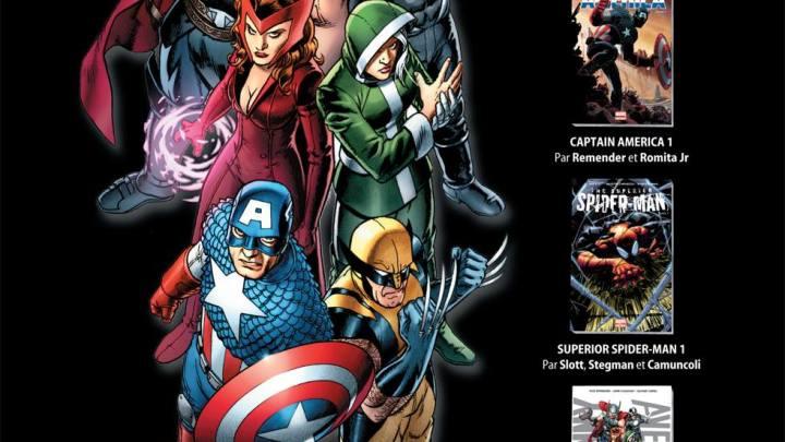 Focus #5 : Panini Comics réactive son offre Marvel en librairie !
