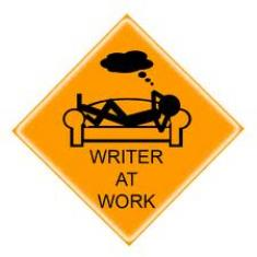 Writer at work - Ecrire