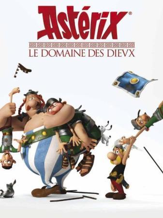 Astérix Le Domaine des Dieux affiche film