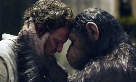 La planète des singes l'affrontement scène 1