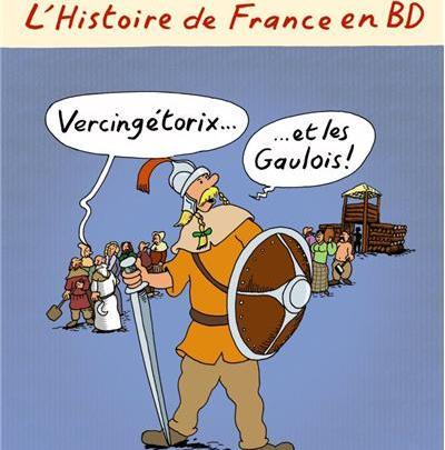 L'Histoire de France en BD, tome 4 : Vercingétorix et les Gaulois