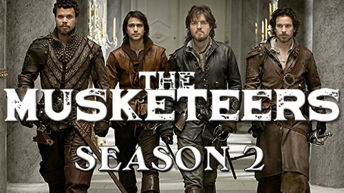 The Musketeers, saison 2