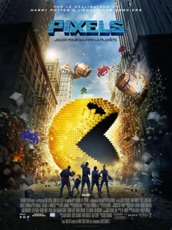 Pixels affiche