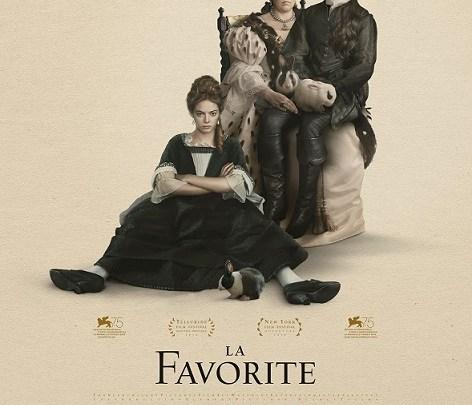 Séance cinéma : La favorite