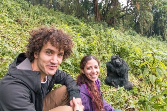 Le Big Trip meets the mountain gorillas in Rwanda