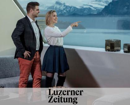 Luxuswohnung statt Hotelzimmer - Le Bijou in der Luzerner Zeitung