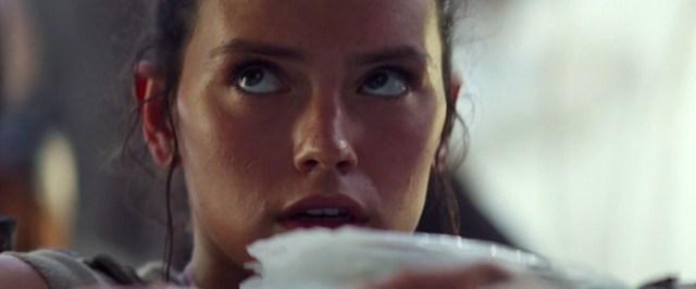 Daisy Ridley (Rey) - Droits réservés, Lucasfilm Ltd, The Walt Disney Company.