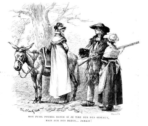 Les Chouans est un roman d'Honoré de Balzac publié en 1829 chez Urbain Canel.  Commencé à l'automne 1828 et presque terminé à Fougères, dans la maison du général Gilbert de Pommereul, qui fut l'hôte de Balzac et demeura toujours son ami, le roman eut d'abord pour titre Le Gars, puis Les Chouans ou la Bretagne il y a trente ans, avant de devenir provisoirement Le Dernier Chouan.