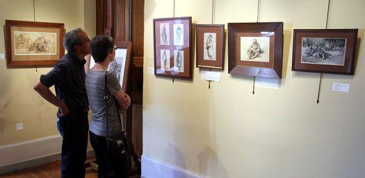 exposition, Le Blant, guerre 14-18