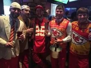 Quelques fans des Chiefs