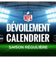 Le Calendrier NFL 2018 dévoilé