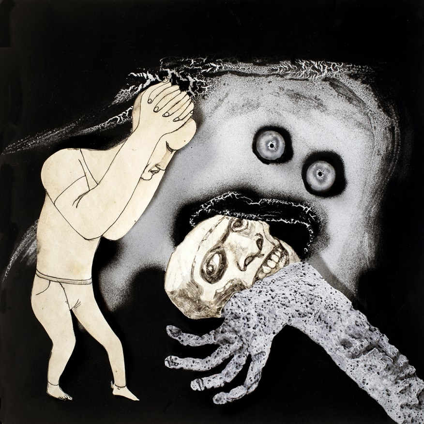 Roger Ballen/Hans Lemmen Oh No! 2016 Photographie 55x55 © Roger Ballen et Hans Lemmen Collection privée