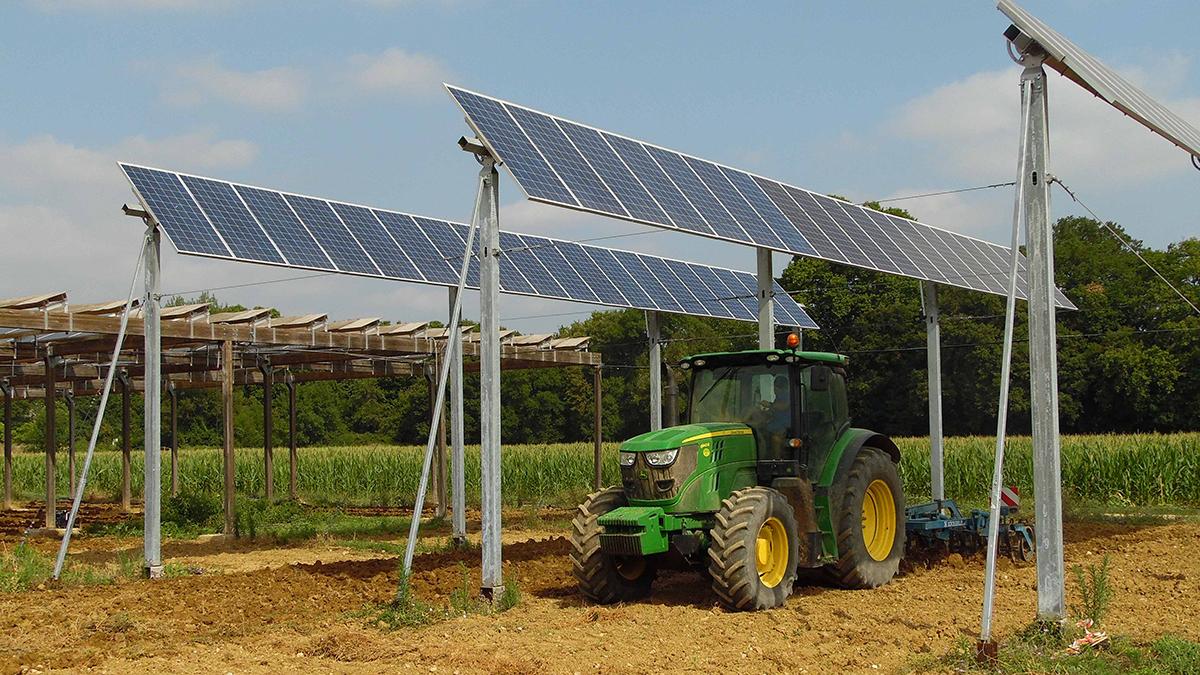 agrivoltaïque et agriculture