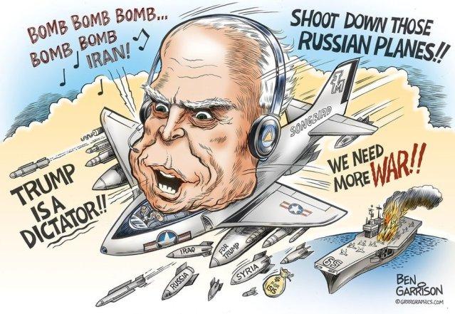 mccain-mad-bomber-ben-garrison