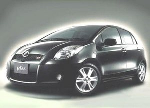 Toyota Vitz in China