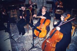 Répétition de l'Ensemble Instrumental AMATI à l'église Saint-Jacques de Dieppe