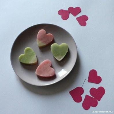DIY-ST-Valentin-Coeur-gourmand-pate-amande-coeurs-découpés