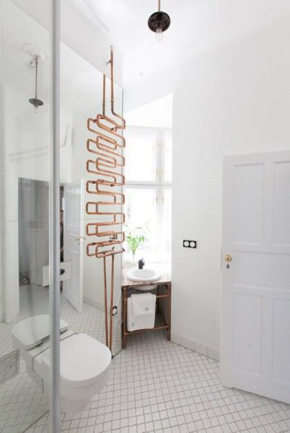 cuivre-tube-radiateur-salle-de bain-deco-Mamastudio