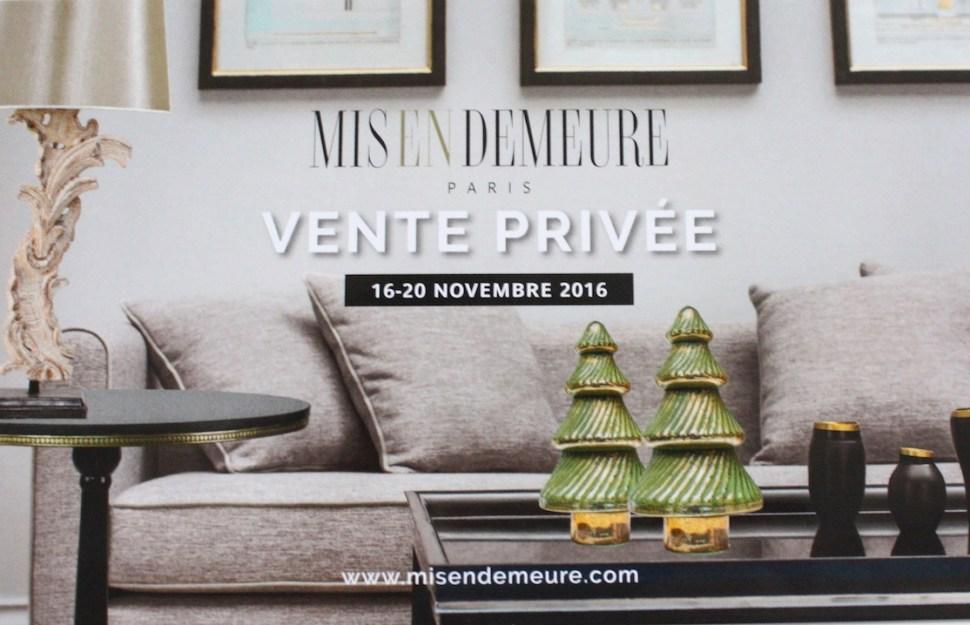 Vente privée déco et meubles chez Mis En Demeure - Le Blog déco de MLC