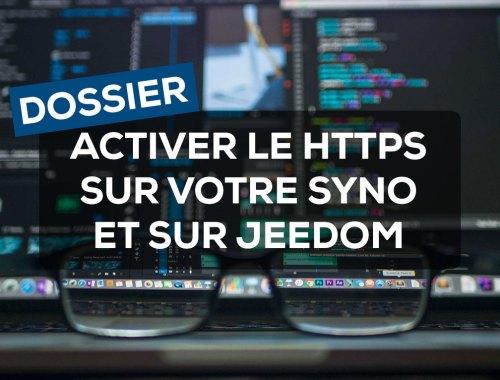 Activer le HTTPS sur votre Synology et sur Jeedom