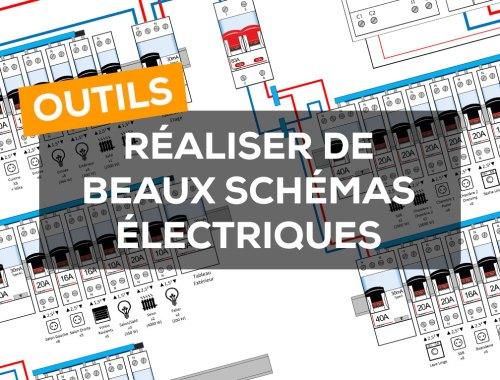 Mes outils pour réaliser le schéma du tableau électrique de sa maison