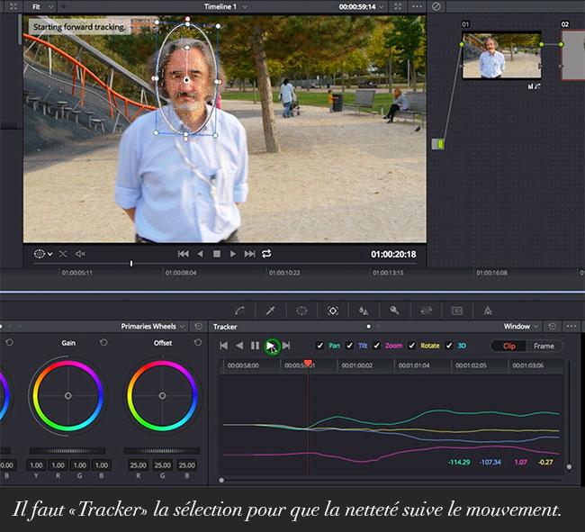 Travailler La Nettete D Un Film Avec Davinci Resolve 12