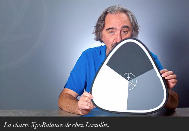 La charte XpoBalance de chez Lastolite.