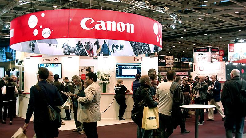 Canon au Salon de la Photo 2015