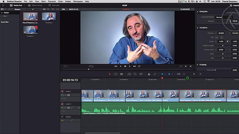 Améliorer une interview en postproduction