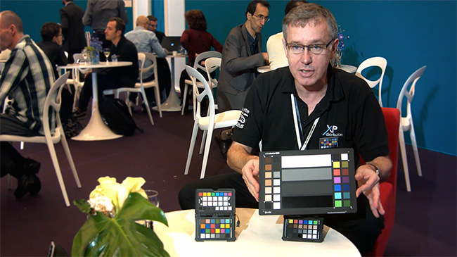 ColorChecker Video au SATIS