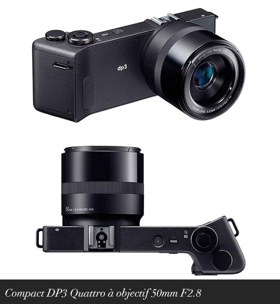 Compact DP3 Quattro à objectif 50mm F2.8